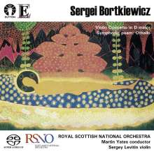 Serge Bortkiewicz (1877-1952): Violinkonzert, Super Audio CD