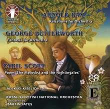 Arnold Bax (1883-1953): Variationen für Orchester (Improvisationen), Super Audio CD