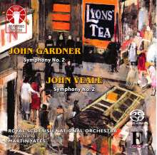 John Gardner (1917-2011): Symphonie Nr.2, SACD