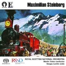 "Maximilian Steinberg (1883-1964): Symphonie Nr.4 op.24 ""Turksib"", SACD"