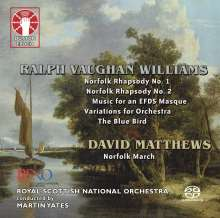Ralph Vaughan Williams (1872-1958): Norfolk Rhapsodies Nr.1 & 2, Super Audio CD