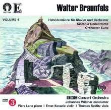 Walter Braunfels (1882-1954): Hebridentänze op.70 für Klavier & Orchester, Super Audio CD