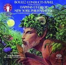 Maurice Ravel (1875-1937): Daphnis et Chloe (Gesamtaufnahme), Super Audio CD