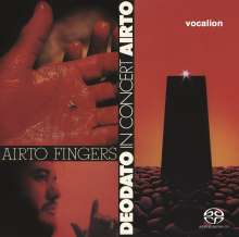 Airto: Fingers / Deodato: In Concert, Super Audio CD