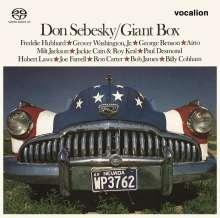 Don Sebesky (geb. 1937): Giant Box, SACD