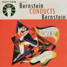 Leonard Bernstein (1918-1990): Bernstein conducts Bernstein, CD