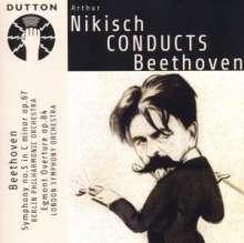Arthur Nikisch dirigiert Beethoven, CD