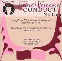 Carl Nielsen (1865-1931): Symphonien Nr.3 & 6, CD