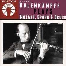 Georg Kulenkampff spielt Mozart, Spohr & Bruch, CD
