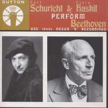 Carl Schuricht & Clara Haskil perform Beethoven, CD