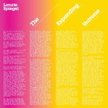Laurie Spiegel: The Expanding Universe, 2 CDs