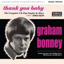 Graham Bonney: Thank You Baby (The Complete UK Pop Singles & More), CD