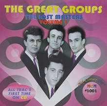 Great Groups: Lost Masters 1  / Various: Great Groups: Lost Masters 1  / Various, CD