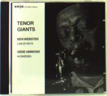 Ben Webster & Gene Ammons: Tenor Giants, CD