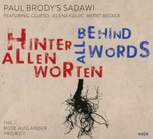 Paul Brody's Sadawi: Hinter allen Worten (Feat. Clueso, Meret Becker), CD