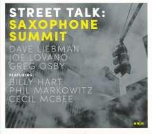 Saxophone Summit: Street Talk, CD