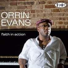 Orrin Evans (geb. 1975): Faith In Action, CD