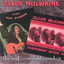 Ellen McIlwaine: Everybody Needs It/The Real, CD
