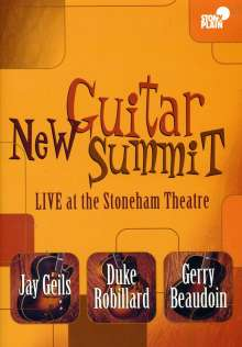 Jay Geils, Duke Robillard & Gerry Beaudoin: Guitar Summit Live At The Stoneham Theatre, DVD