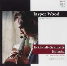 Sophie-Carmen Eckhardt-Gramatte (1899-1974): 10 Capricen für Violine, CD