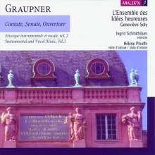 Christoph Graupner (1683-1760): Instrumental- & Vokalmusik Vol.2, CD