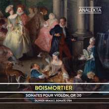 Joseph Bodin de Boismortier (1689-1755): Sonaten für Violine & Bc op.20 Nr.1-6, CD