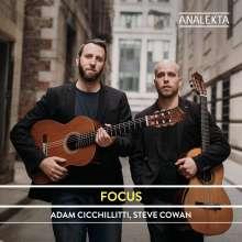 Adam Cicchillitti & Steve Cowan - Focus, CD