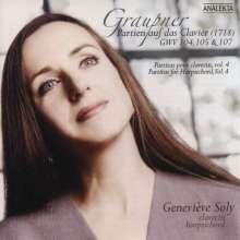 Christoph Graupner (1683-1760): Cembalo-Partiten Vol.4, CD