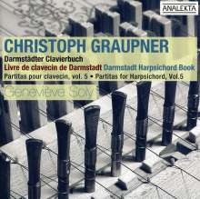 Christoph Graupner (1683-1760): Cembalo-Partiten Vol.5, CD