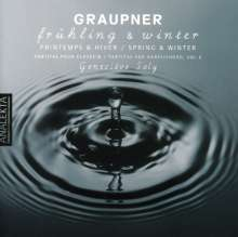Christoph Graupner (1683-1760): Cembalo-Partiten Vol.6, CD