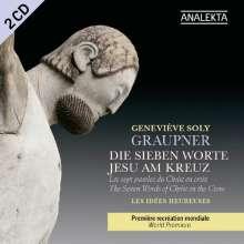 """Christoph Graupner (1683-1760): Kantatenzyklus """"Die sieben Worte Jesu am Kreuz"""", 2 CDs"""
