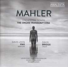 Gustav Mahler (1860-1911): Liederzyklen in Bearbeitung für Orgel, CD