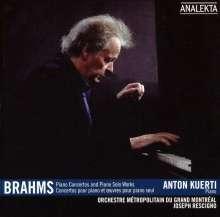 Johannes Brahms (1833-1897): Klavierkonzerte Nr.1 & 2, 3 CDs