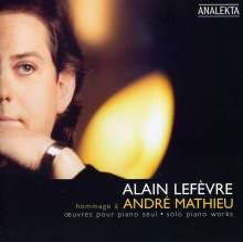 Andre Mathieu (1929-1968): Klavierwerke, CD