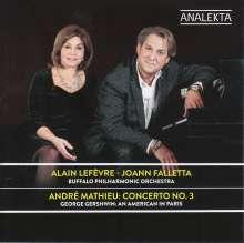 "Andre Mathieu (1929-1968): Klavierkonzert Nr.3 ""Concerto de Quebec"", CD"