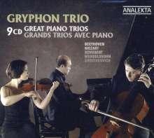 Gryphon Trio - Great Piano Trios, 9 CDs