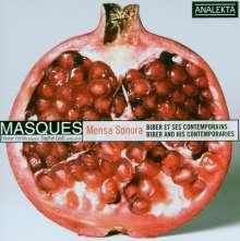 Ensemble Masques - Mensa Sonora, CD