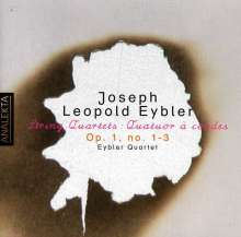 Joseph Eybler (1765-1846): Streichquartette op.1 Nr.1-3, CD