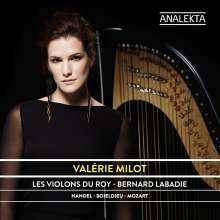 Valerie Milot spielt Harfenkonzerte, CD
