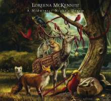 Loreena McKennitt: A Midwinter Night's Dream, CD