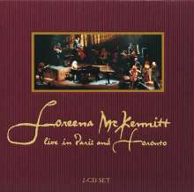 Loreena McKennitt: Live In Paris And Toronto 1998, 2 CDs