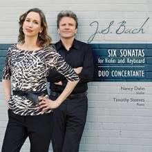 J.S. Bach/ Duo Concertante: Six Sonatas For Violin & Piano, CD