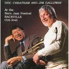 Doc Cheatham & Jim Galloway: Bern Jazz Festival, CD