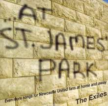 Exiles: At St. James' Park, CD