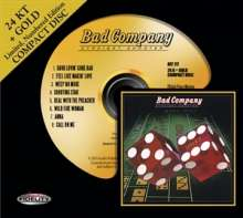 Bad Company: Straight Shooter (Ltd. 24 Karat Gold-CD), CD