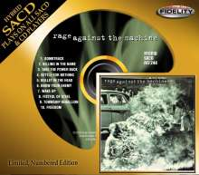 Rage Against The Machine: Rage Against The Machine (Limited Numbered Edition) (Hybrid-SACD), Super Audio CD