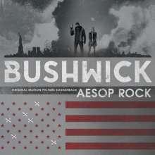 Aesop Rock: Filmmusik: Bushwick (Limited-Edition) (Blue Marbled Vinyl), LP
