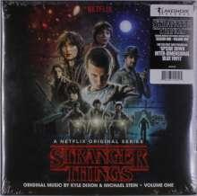 Kyle Dixon & Michael Stein: Filmmusik: Stranger Things Vol. 1: Music From The Netflix Original Series (Blue Vinyl), 2 LPs