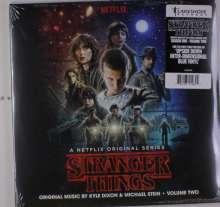 Kyle Dixon & Michael Stein: Filmmusik: Stranger Things Vol. 2: Music From The Netflix Original Series (Blue Vinyl), 2 LPs