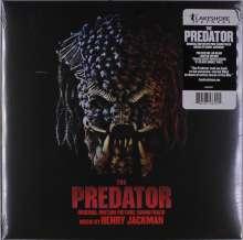 Henry Jackman: Filmmusik: The Predator (Limited-Edition) (Green/Black Smoke Vinyl), 2 LPs